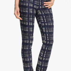 Tory Burch plaid jeans
